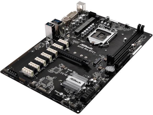 ASRock H110 PRO BTC LGA 1151 for 12 GPU Mining