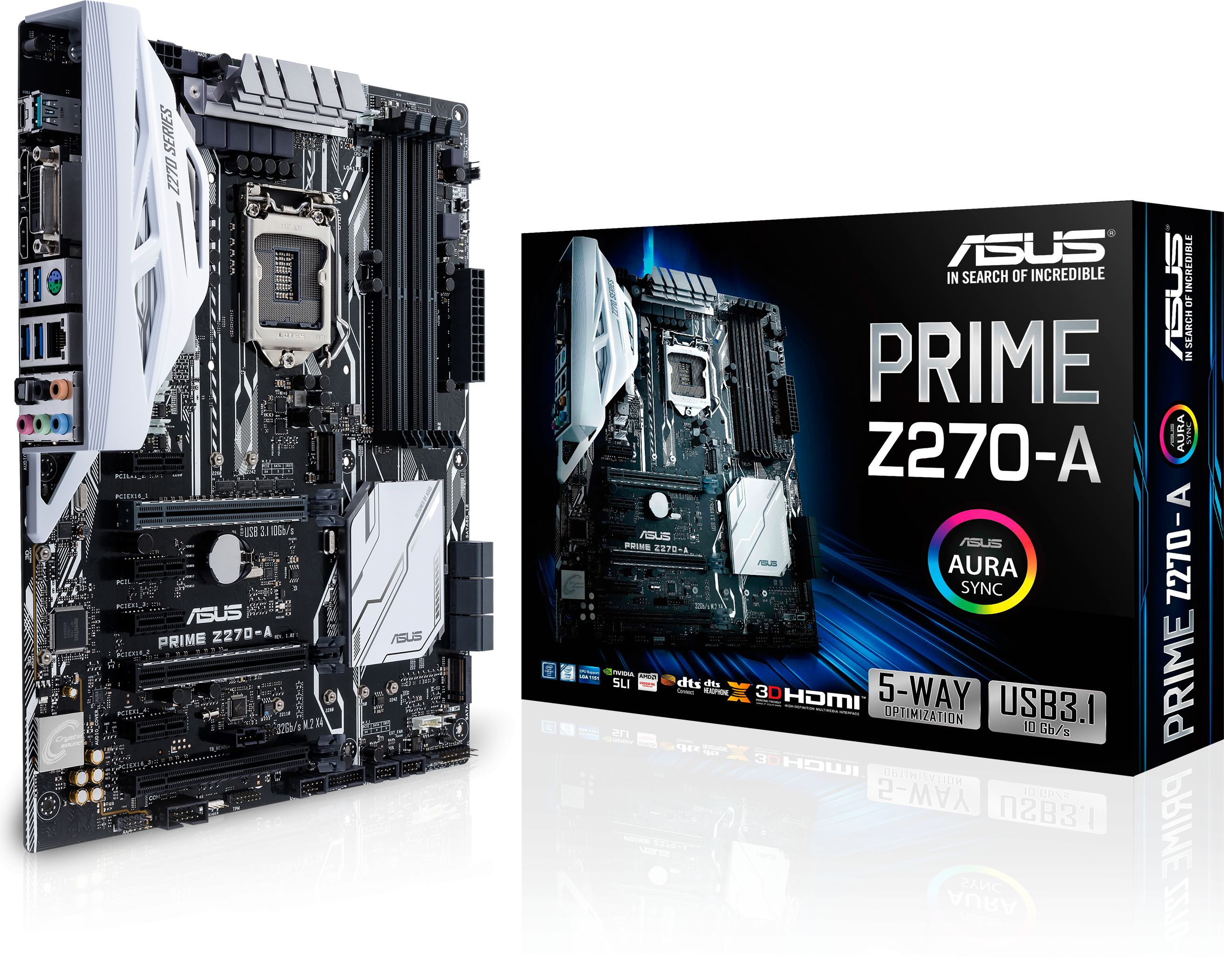 Asus PRIME Z270-A LGA 1151 for mining 7 video cards