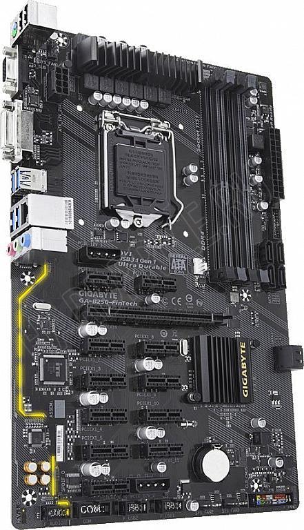 Gigabyte GA-B250-FinTech LGA 1151 for mining 12 video cards