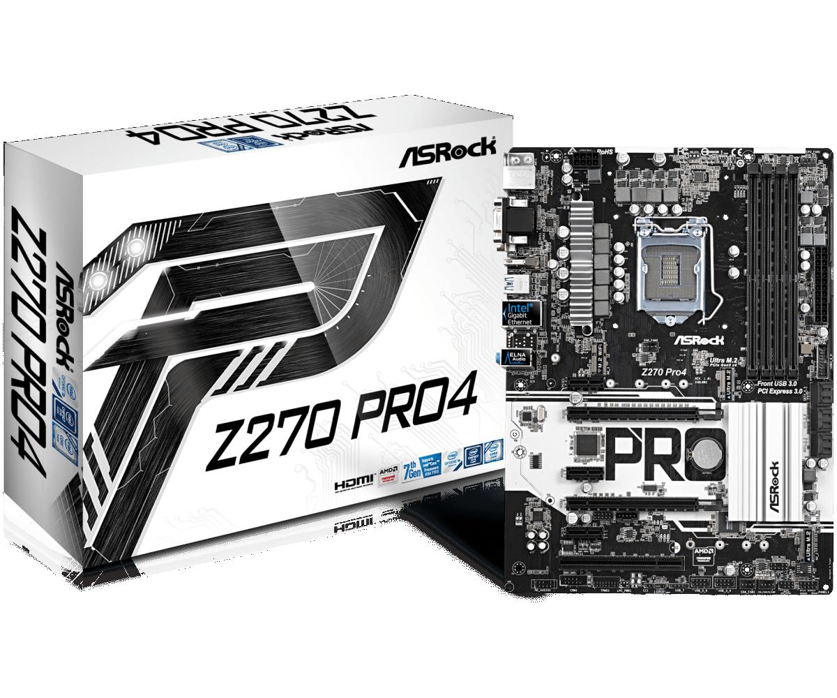 ASRock B250 PRO4 LGA 1151 for 5 GPU Mining