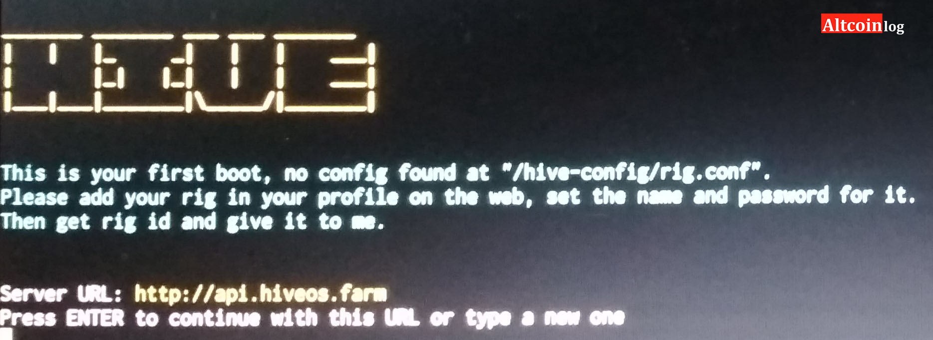Riga activation and Hive OS synchronization