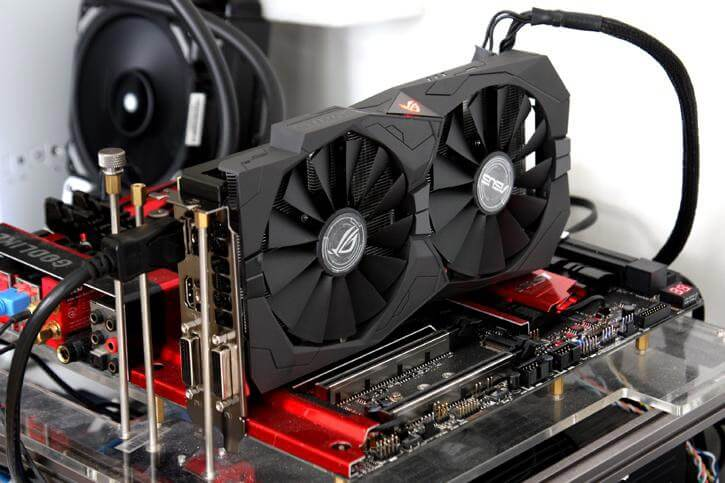 overclocking the video card at the stand, the optimal value
