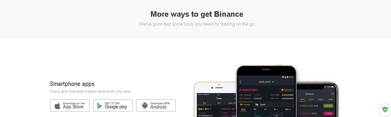 бинанс приложение андроид